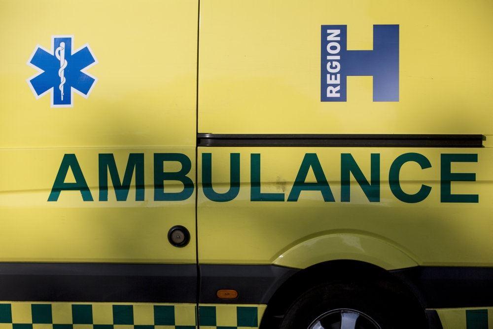 en ambulance