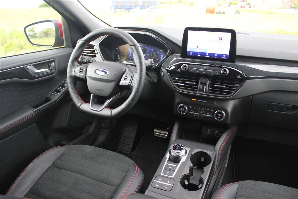 En bil indeni
