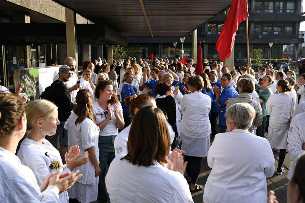 Sygeplejersker der har nedlagt arbejdet