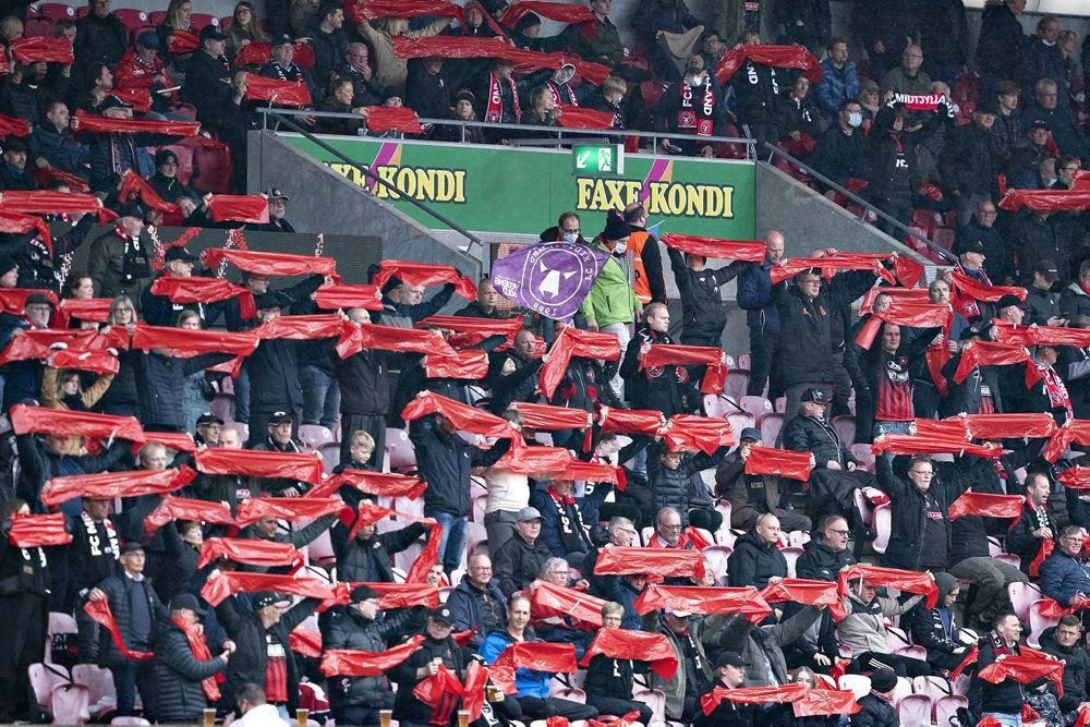 FC Midtjyllands fans