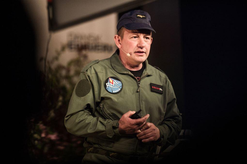 Peter Madsen under et foredrag længe før, han dræbte Kim Wall.