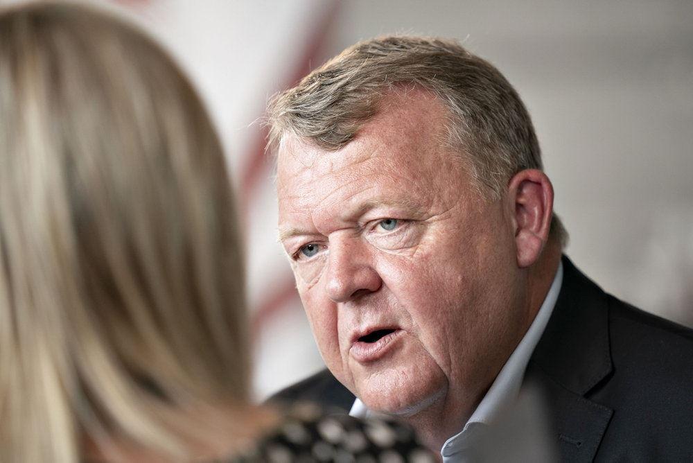 Lars Løkke Rasmussen taler