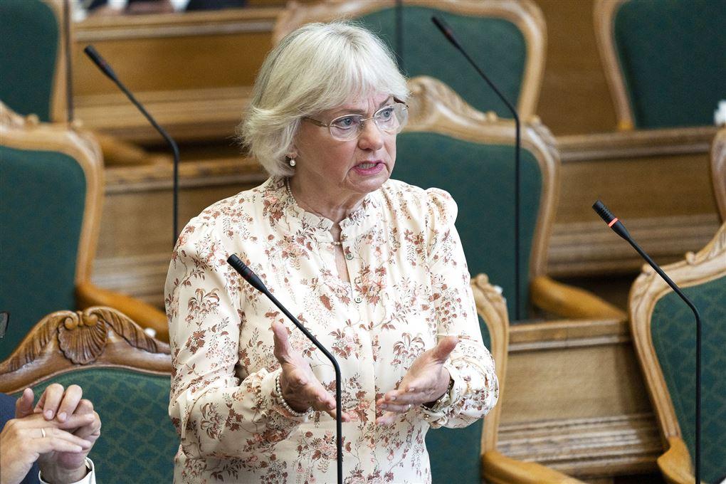 pia kjærsgaard taler i folketinget