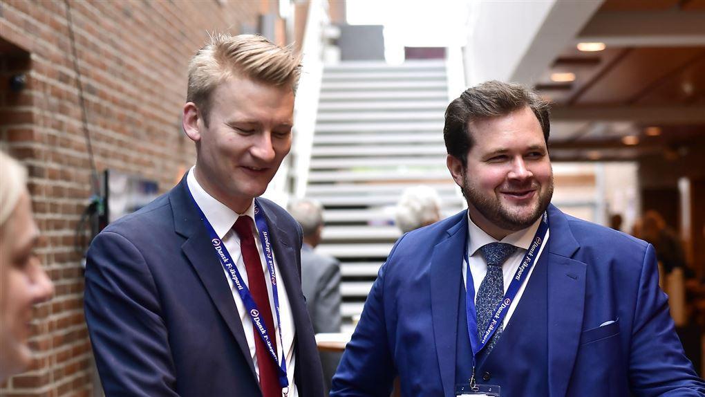 Peter Kofod og  Anders Vistisen