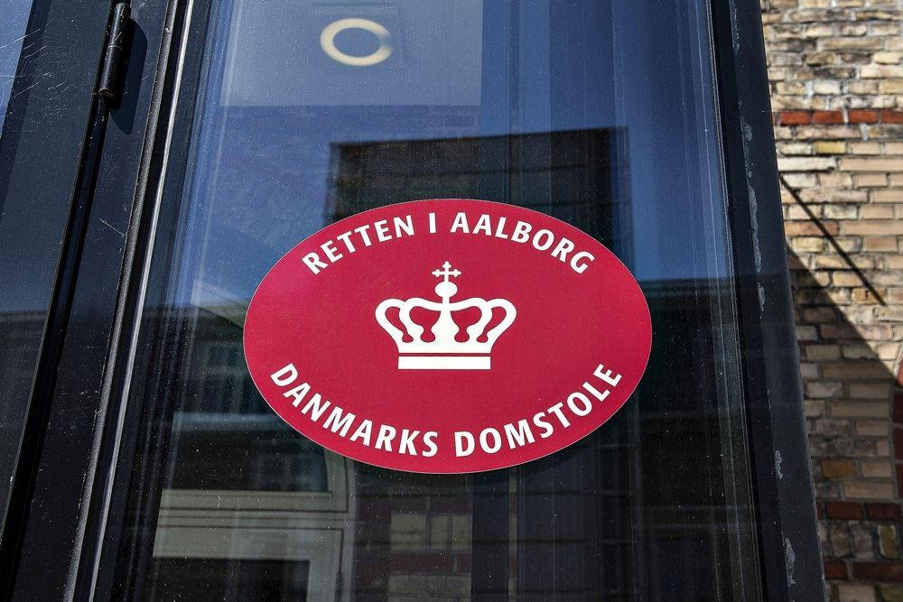 Retten i Aalborg set udefra.