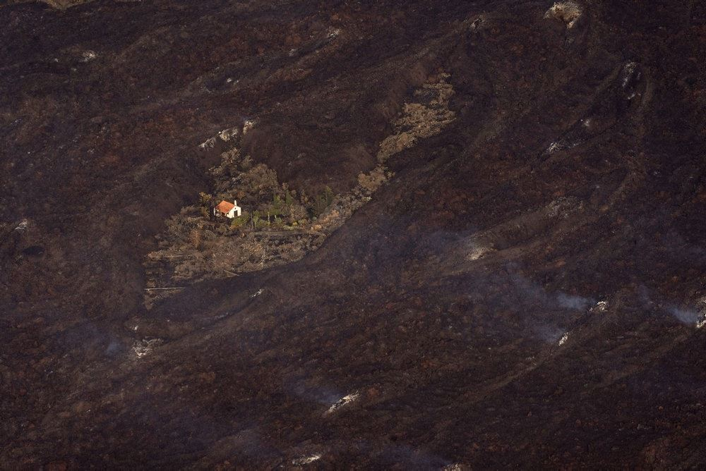 en stor lavastrøm