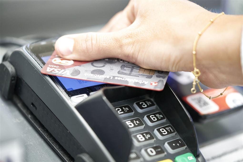 Dankort og terminal