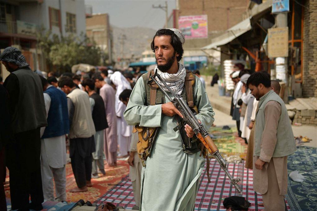Talibankriger på gaden