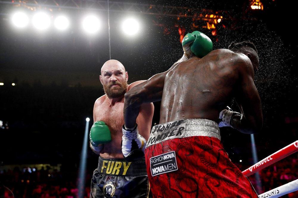 to boksere i ringen