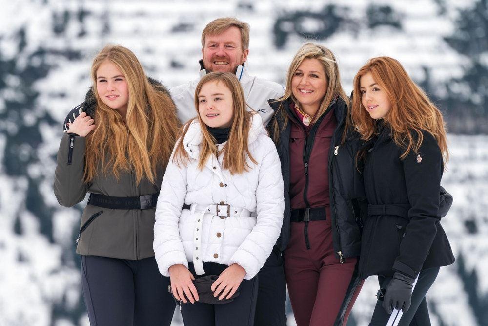 Den hollandske kongefamilie