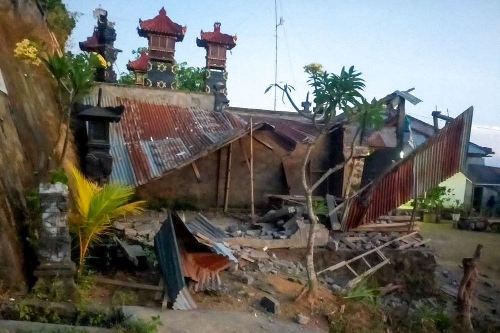 Ødelagt tempel
