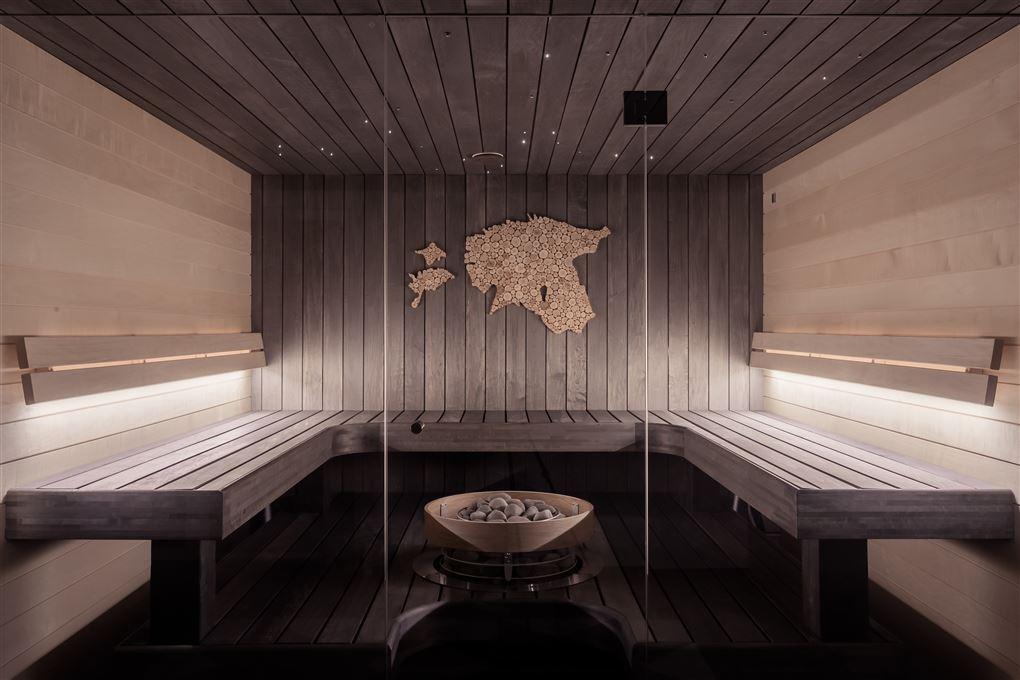 En sauna