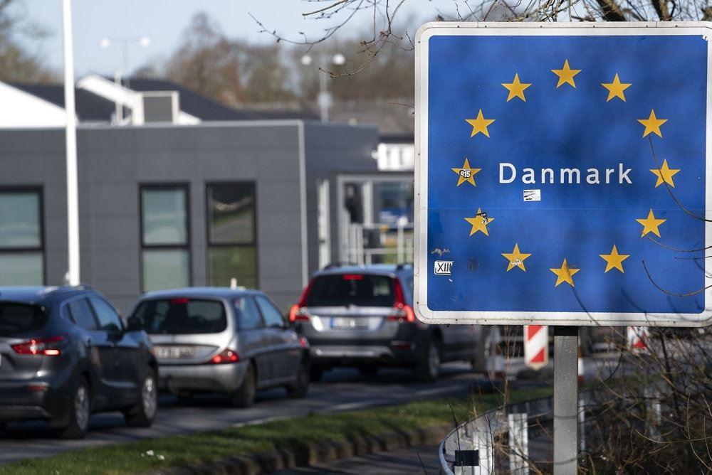 Grænsen til Tyskland