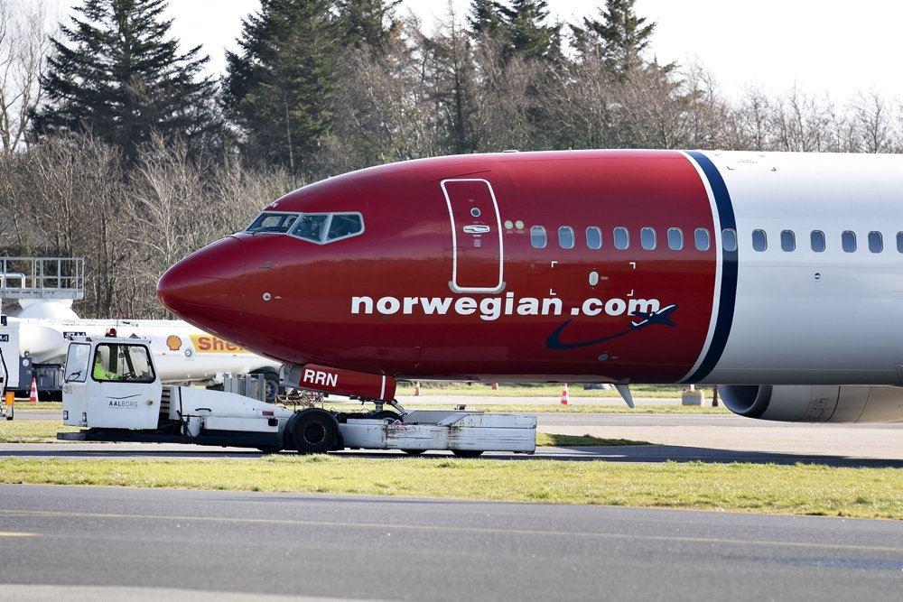 Et fly fra Norwegian