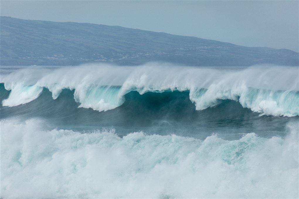 En masse store bølger