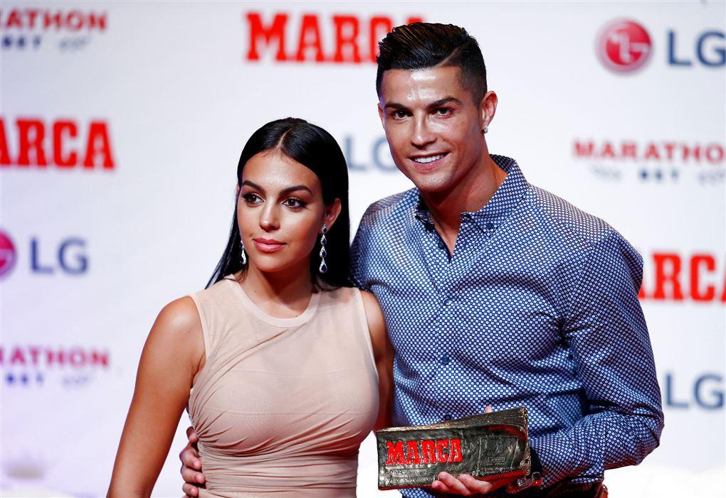 Ronaldo og kæresten, Georgina
